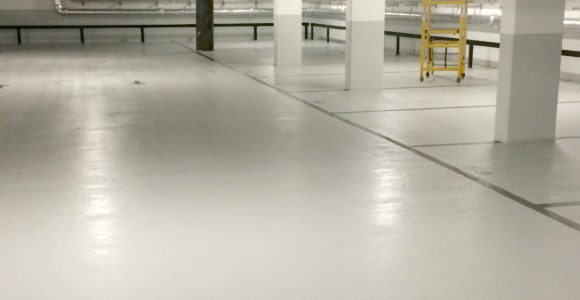 Car Park Basement Floor Coating System
